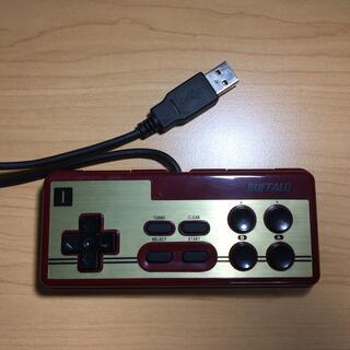 バッファロー(Buffalo)のファミコン型PCゲーム用コントローラー USB接続(その他)