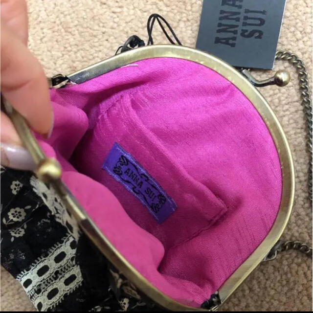 ANNA SUI(アナスイ)のANNA SUI がま口ポーチ レディースのファッション小物(ポーチ)の商品写真