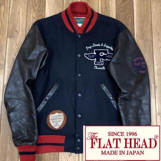 THE FLAT HEAD - フラットヘッド  The Flat Head   ◼️希少◼️レザー スタジャン