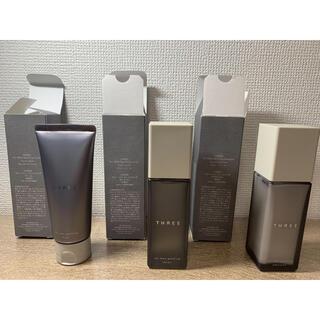 THREE - スリーフォーメン 洗顔 化粧水 乳液 セット