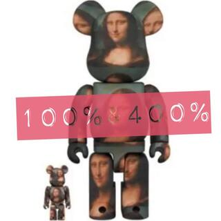 メディコムトイ(MEDICOM TOY)のBE@RBRICK Mona Lisa モナリザ 100& 400%(その他)