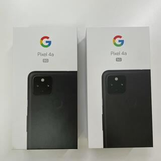 グーグル(Google)の【新品】Google Pixel 4a(5G) 128GB 2台(スマートフォン本体)