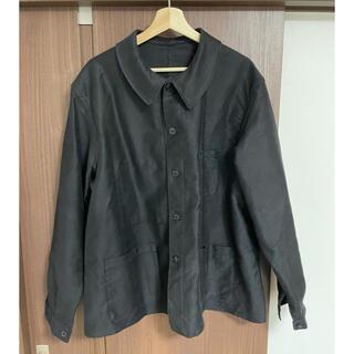 コモリ(COMOLI)のブラックモールスキンジャケット ビンテージ  50s (カバーオール)