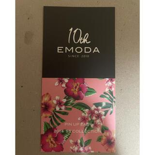 エモダ(EMODA)のエモダ EMODA 10周年記念ステッカー 3枚セット(ノベルティグッズ)