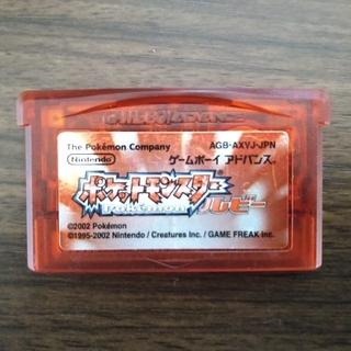 ニンテンドウ(任天堂)のポケットモンスター ルビー(携帯用ゲームソフト)