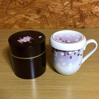 ウノチヨ(宇野千代)の宇野千代 マグカップ 茶筒 セット(食器)