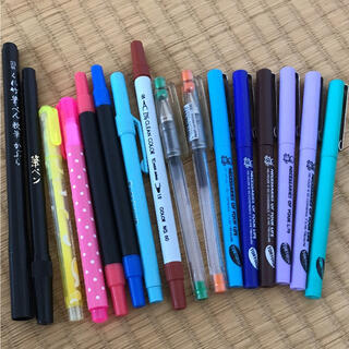 筆ペン&カラーペン(カラーペン/コピック)