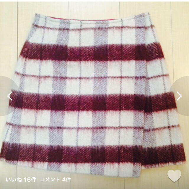 MERCURYDUO(マーキュリーデュオ)のMERCURYDUO☆シャギースカート レディースのスカート(ミニスカート)の商品写真