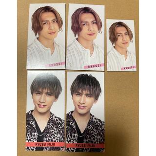 ジャニーズ(Johnny's)の藤井流星 デタカ SMILEメッセージカード(アイドルグッズ)