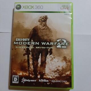 エックスボックス360(Xbox360)のXBOX360 CODモダンウォーフェア2 中古品(家庭用ゲームソフト)