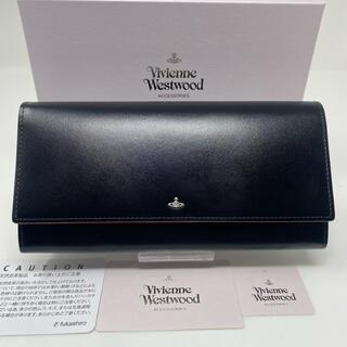Vivienne Westwood - Vivienne Westwood 長財布 シンプルタイニーオーブ ブラック