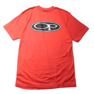 オーシャンパシフィック(OCEAN PACIFIC)の【90s】Ocean Pacific オールドサーフ ロゴ Tシャツ レッド L(Tシャツ/カットソー(半袖/袖なし))