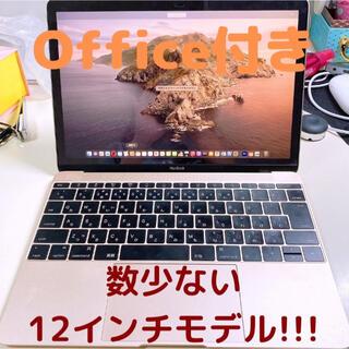 Apple - 【美品Office付き】MacBook 12インチ