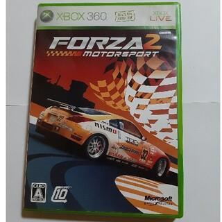 エックスボックス360(Xbox360)のXBOX360 FORZA2 中古品(家庭用ゲームソフト)