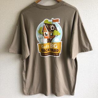プリント Tシャツ God's BIG BACKYARD ※タグが切れています。
