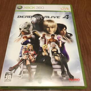 エックスボックス360(Xbox360)のデッドアラ4(家庭用ゲームソフト)