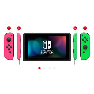 Nintendo Switch - 【新品送料込み】スイッチ マイニンテンドーストア限定 ネオンピンク/グリーン