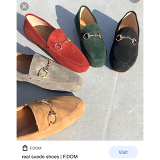 TODAYFUL - F.domリアルスエードshoes