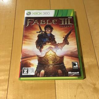 エックスボックス360(Xbox360)のFableIII(フェイブルIII) XB360(家庭用ゲームソフト)