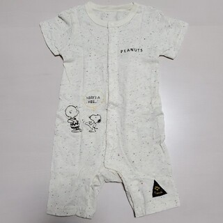 SNOOPY - ベビー服 ロンパース スヌーピー 半袖 70~80サイズ