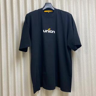 新品21ss 送料込 UNION ロゴ Tシャツ XL ユニオン ブラック