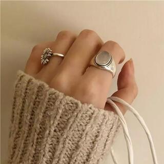 FREAK'S STORE - white stone ring