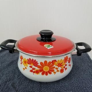 サンコーウェアー ホーロー鍋(鍋/フライパン)