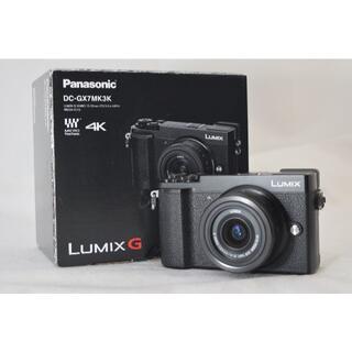 Panasonic - 綺麗な展示品☆Panasonic LUMIX DC-GX7MK3K ブラック②