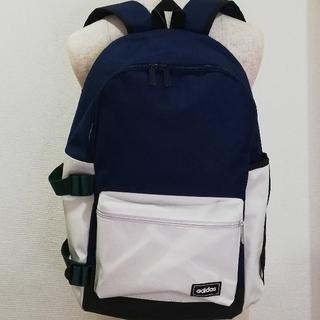 アディダス(adidas)の新品・未使用「アディダスadidas 」リュック紺×白ユニセックス(リュック/バックパック)