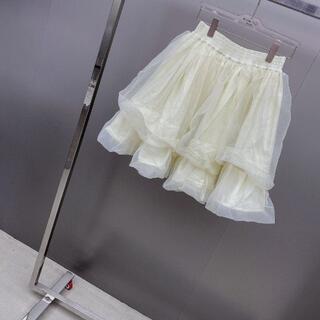 メッシュのプリーツスカート(その他)