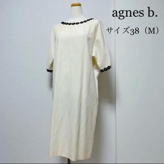 agnes b. - agnes b. アニエスベー フラワーデザインワンピース