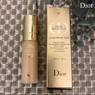 Dior - ディオール プレステージ ル ネクター ドゥ タン ライトベージュ 020