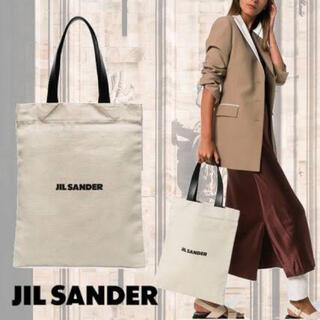 Jil Sander - 大人気 JIL SANDER ジルサンダー キャンバス トートバッグ⚠️在庫1点