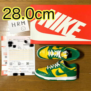 NIKE - NIKE DUNK LOW SP BRAZIL  28.0cm