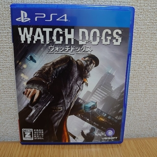 プレイステーション4(PlayStation4)のウォッチドッグス PS4(家庭用ゲームソフト)