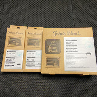 セール ジョンズブレンド 車内芳香剤 エアフレッシュナー タブレット セット(アロマポット/アロマランプ/芳香器)