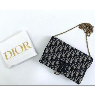 Dior - ディオール サドル SADDLE  オブリーク ジャカード ウォレット ポーチ
