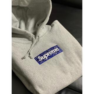 Supreme - supreme BandanaBoxLogoHoodedSweatshirt M