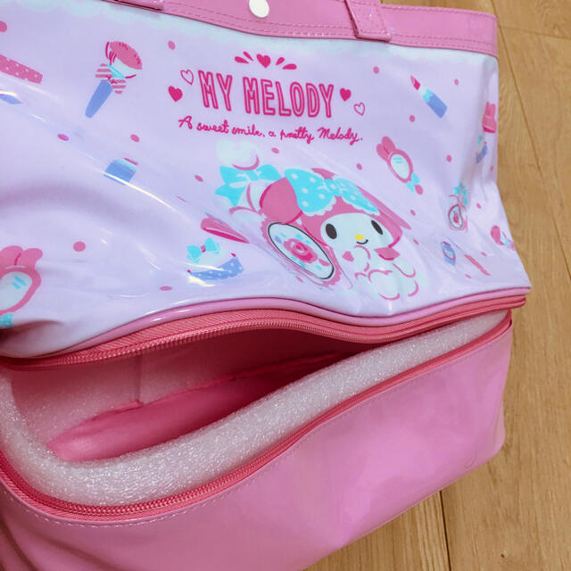 マイメロディ(マイメロディ)の新品 マイメロディ ピンク 水着 トートバッグ 可愛い エンタメ/ホビーのおもちゃ/ぬいぐるみ(キャラクターグッズ)の商品写真
