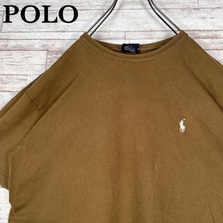 ポロラルフローレン(POLO RALPH LAUREN)の【古着】90s ポロラルフローレン ワンポイント 刺繍ロゴ Tシャツ M(Tシャツ/カットソー(半袖/袖なし))