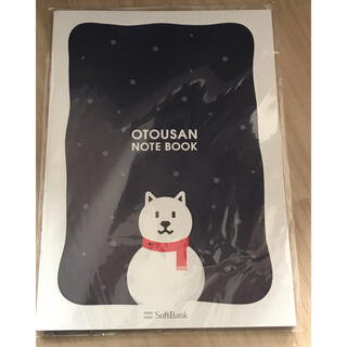 フクオカソフトバンクホークス(福岡ソフトバンクホークス)の雪だるまお父さんノート ソフトバンク 非売品(ノベルティグッズ)