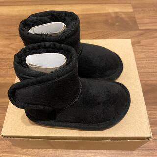 ビーデアール(B de R)のBdeR ムートン風ブーツ 黒(ブーツ)
