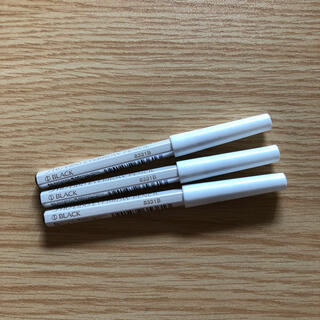 シセイドウ(SHISEIDO (資生堂))の資生堂眉墨鉛筆1番ブラック  アイブロウペンシル未使用未開封 3本セット (アイブロウペンシル)