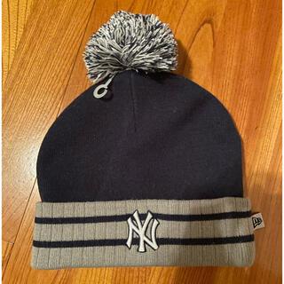 ニューエラー(NEW ERA)のニット帽 ニットキャップ ヤンキース ニューエラ NEW ERA(ニット帽/ビーニー)