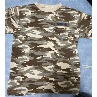 AVIREX - アヴィレックス ファティーグTシャツ XL カモ柄