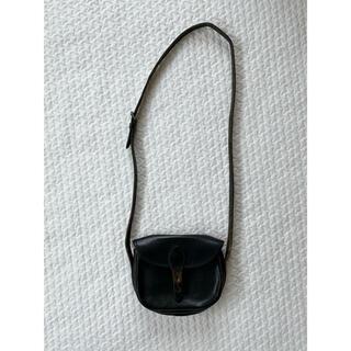 ホワイトハウスコックス(WHITEHOUSE COX)のホワイトコックス ブラックレザーショルダー(ショルダーバッグ)