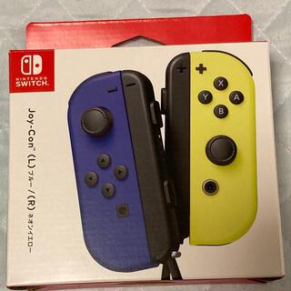 ニンテンドースイッチ(Nintendo Switch)のJoy-Con ブルーネオンイエロー switch(家庭用ゲーム機本体)