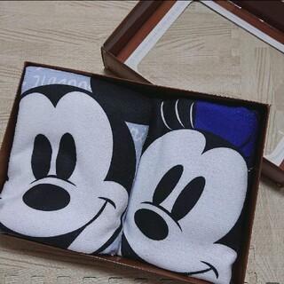 Disney - ディズニー プレミアムミニバスタオルギフトセット ミッキー&ミニー 新品