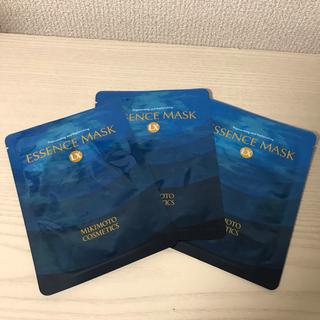 ミキモトコスメティックス(MIKIMOTO COSMETICS)のミキモト化粧品 エッセンスマスク 3枚【新品】(パック/フェイスマスク)