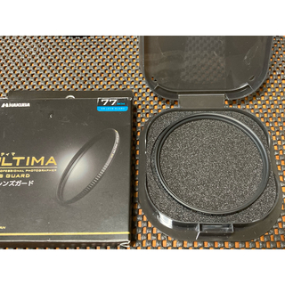 ハクバ(HAKUBA)の2HAKUBA 77mm レンズフィルター ULTIMA WR 透過率99.5%(フィルター)